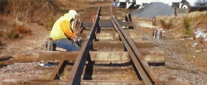 Repair of Railroad Track