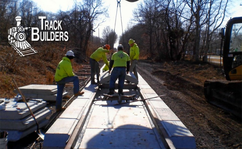 Track Builders with Crane